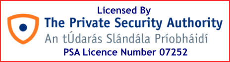 PSA Licence Number 07252 Licensed By
